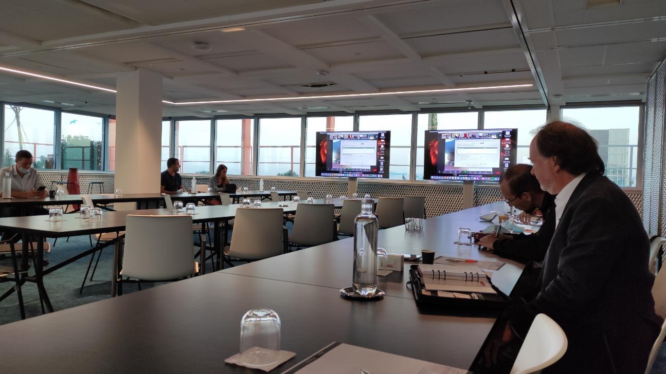 réunion BNI présentation projets médiamed